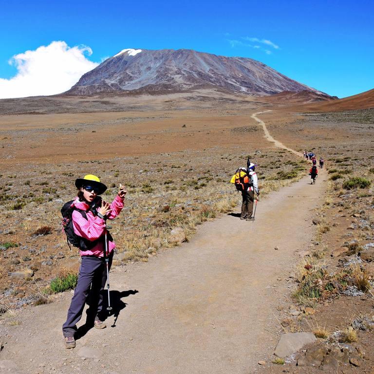 8. 小白點Mt. kibo