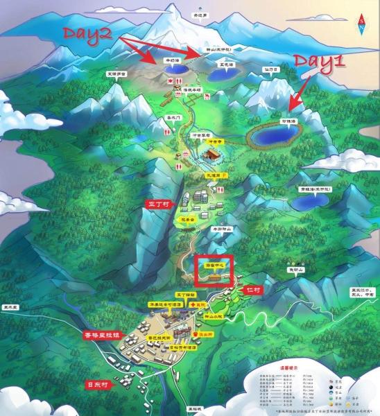 2. 稻城亞丁路線圖jpeg
